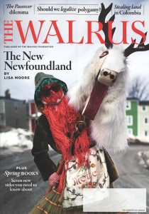Cover of The Walrus magazine for May 2011.