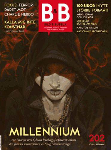 Cover of Bild & Bubbla magazine, issue 202, using Toronto Subway